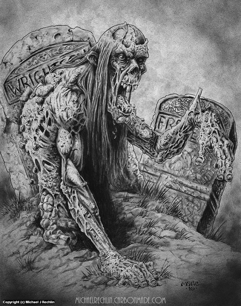 Corpsy McRotsalot Artwork by Michael Rechlin