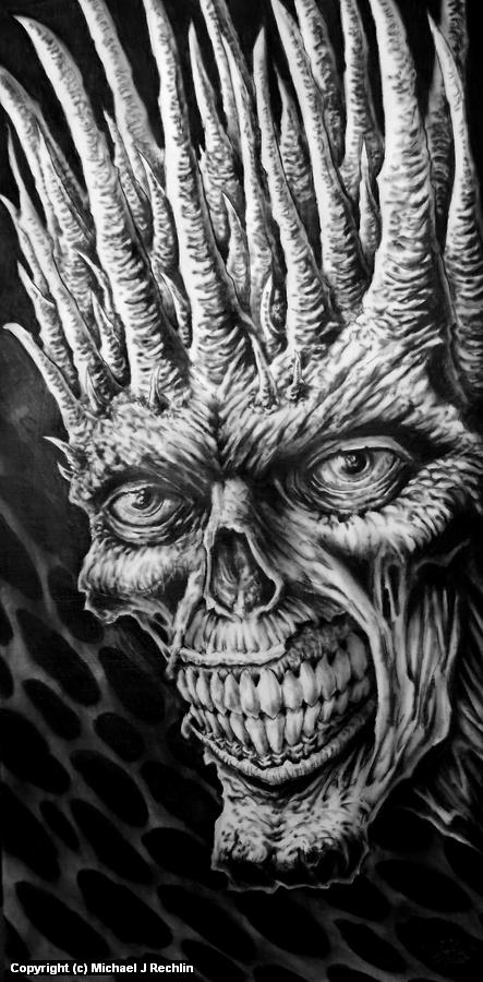 Crown of Horns Artwork by Michael Rechlin