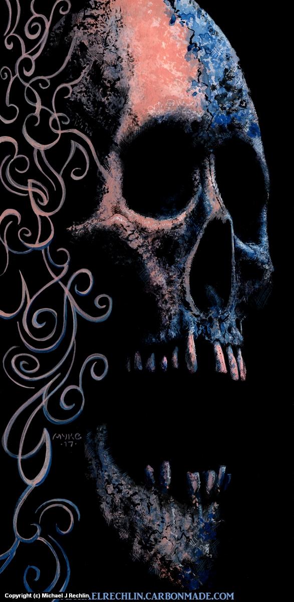 Beautiful Death Artwork by Michael Rechlin