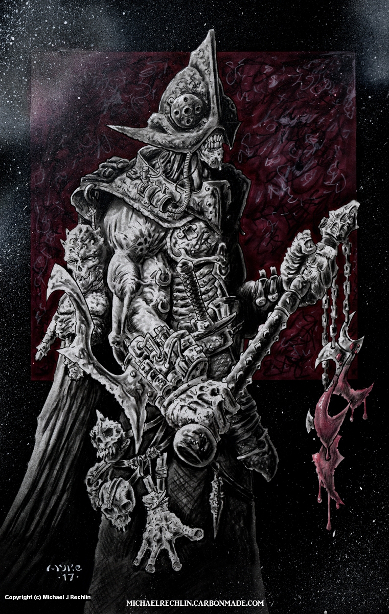 Bluthaken Artwork by Michael Rechlin