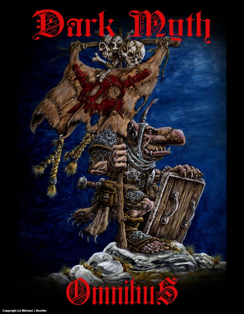 Dark Myth Omnibus Artwork by Michael Rechlin