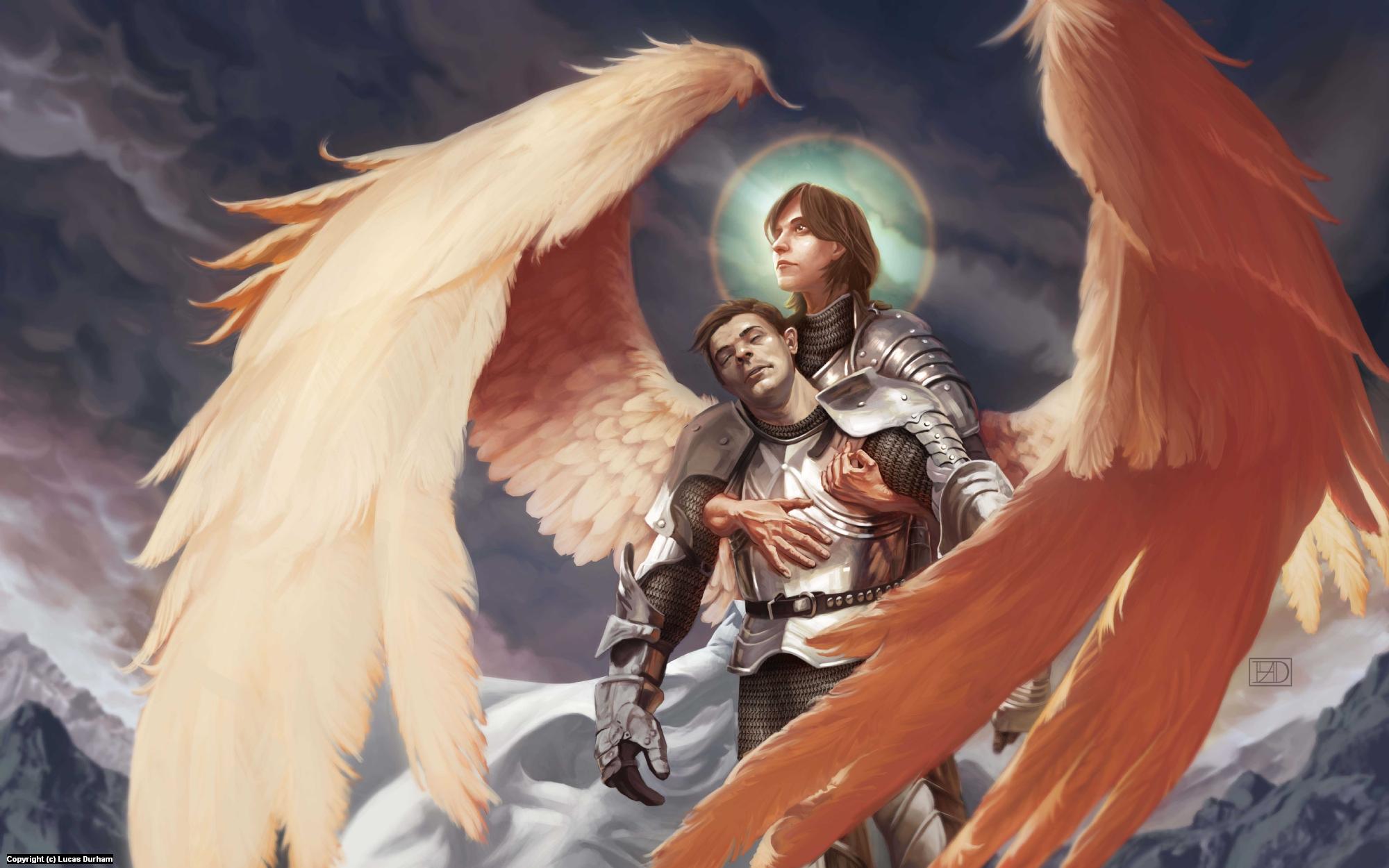 Angelic Shroud Artwork by Lucas Durham