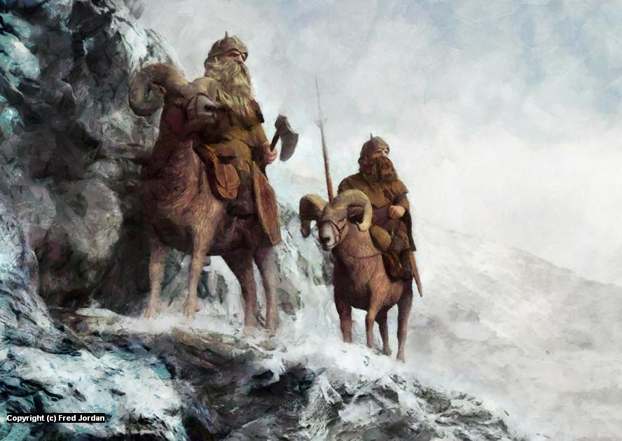 Northern Ridge Artwork by Fred Jordan