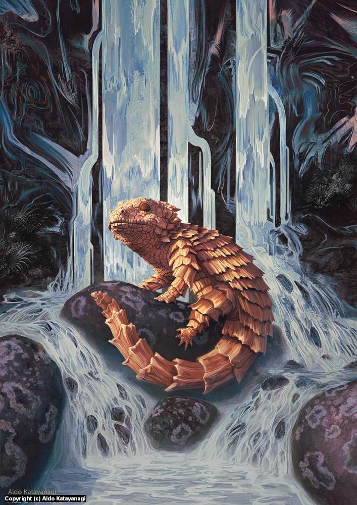 Oroboros Poster Artwork by Aldo Katayanagi