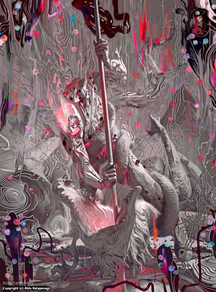 Dragon Artwork by Aldo Katayanagi