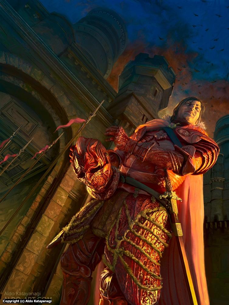 Ramsay in Winterfell - ASOIAF/Game of Thrones Artwork by Aldo Katayanagi
