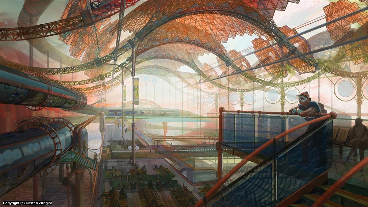 Tidepipe Station Artwork by Kirsten Zirngibl
