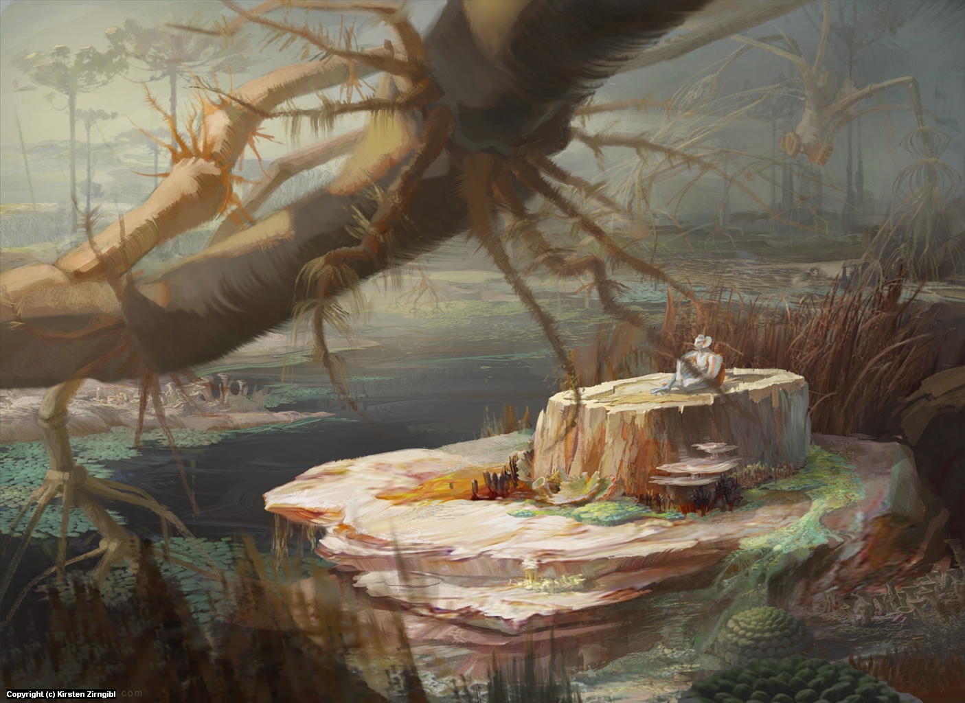 Anerimarsh Artwork by Kirsten Zirngibl