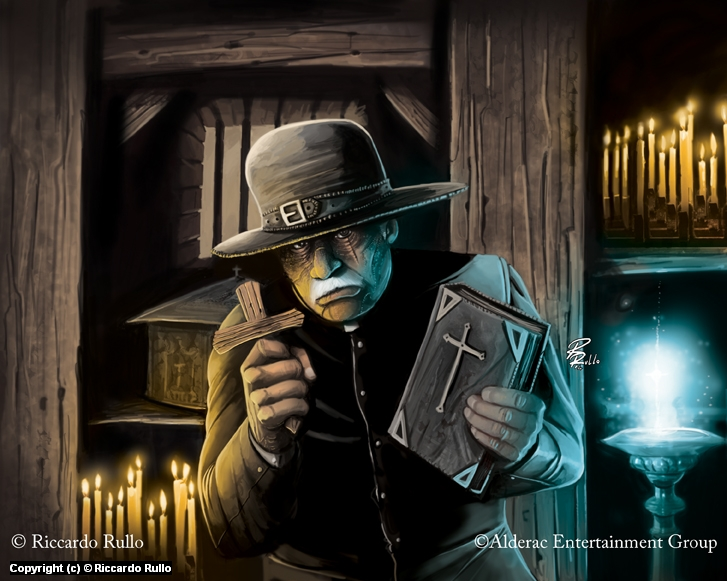 Doomtown: Rev.Perry Inbody Artwork by Riccardo Rullo