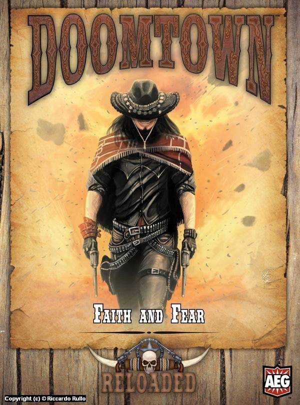 Doomtown: Faith and Fear cover Artwork by Riccardo Rullo