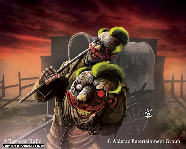 Doomtown: Funtime Freddy Artwork by Riccardo Rullo