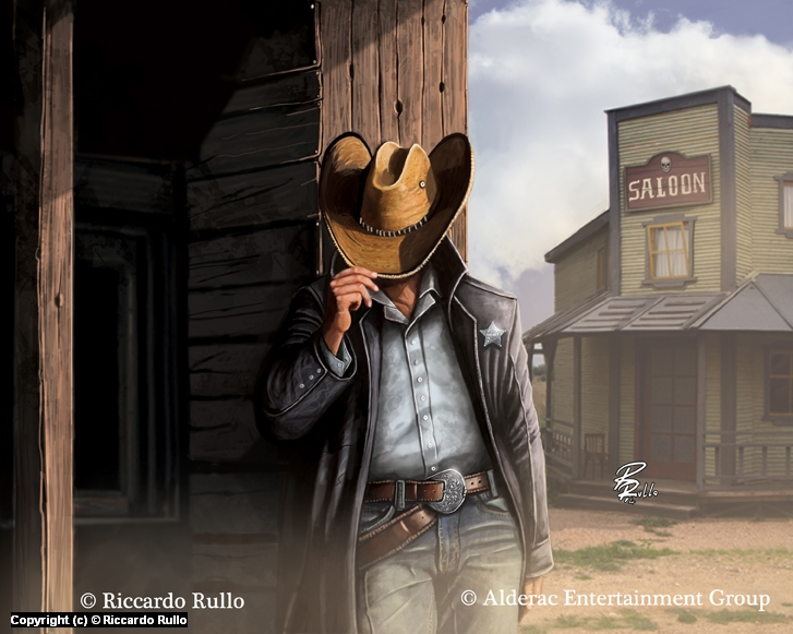 Doomtown: Fancy New Hat Artwork by Riccardo Rullo