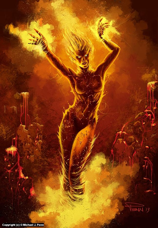 Pyra Artwork by Mike Penn