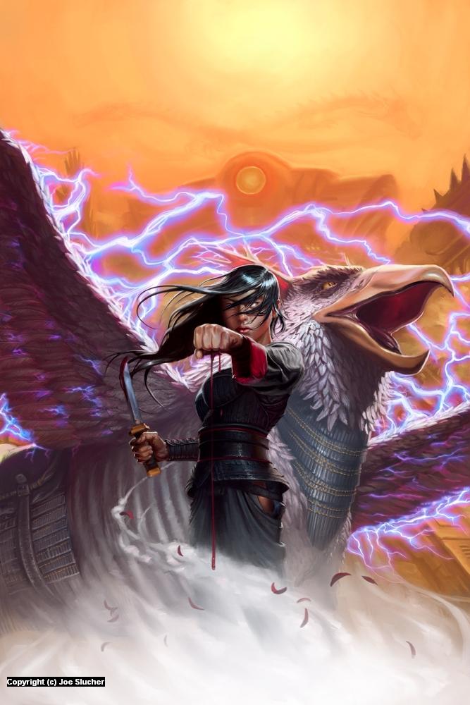 Stormdancer Artwork by Joe Slucher