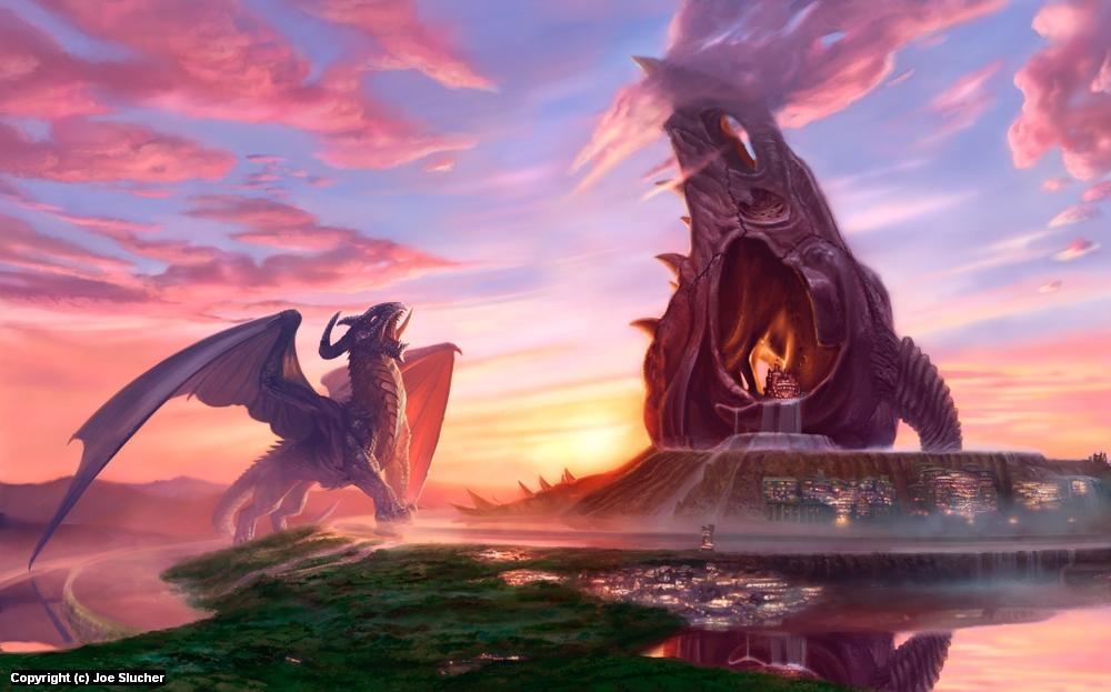 Dragon Home Artwork by Joe Slucher