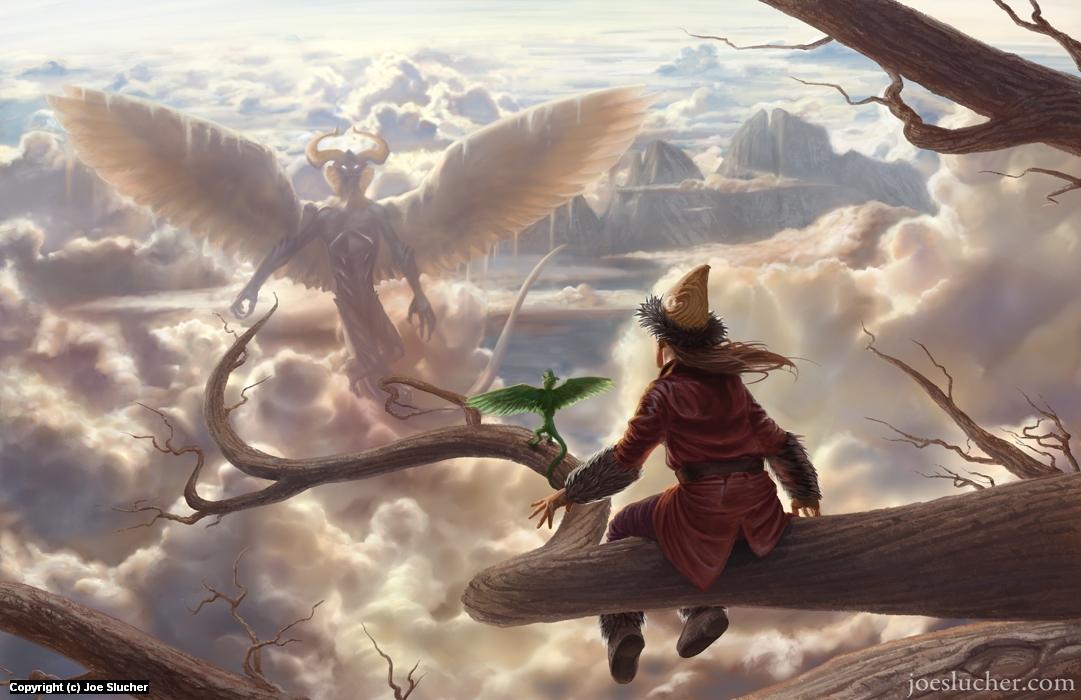 Above the Clouds Artwork by Joe Slucher