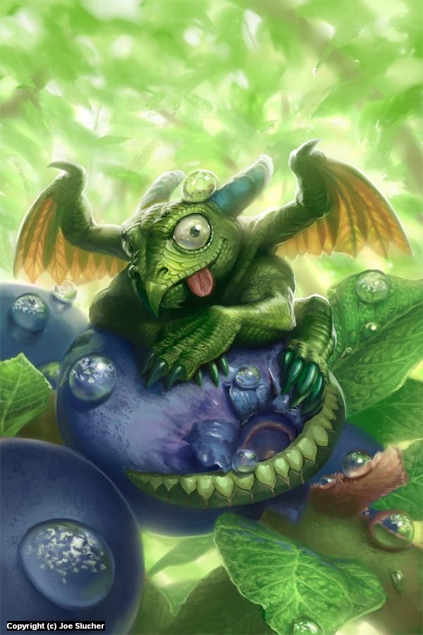 Baby Dragon Artwork by Joe Slucher