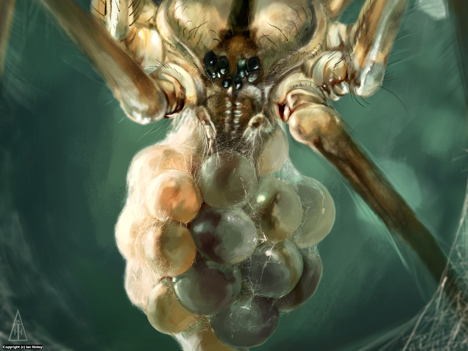 Broodmother Artwork by Ian Hinley