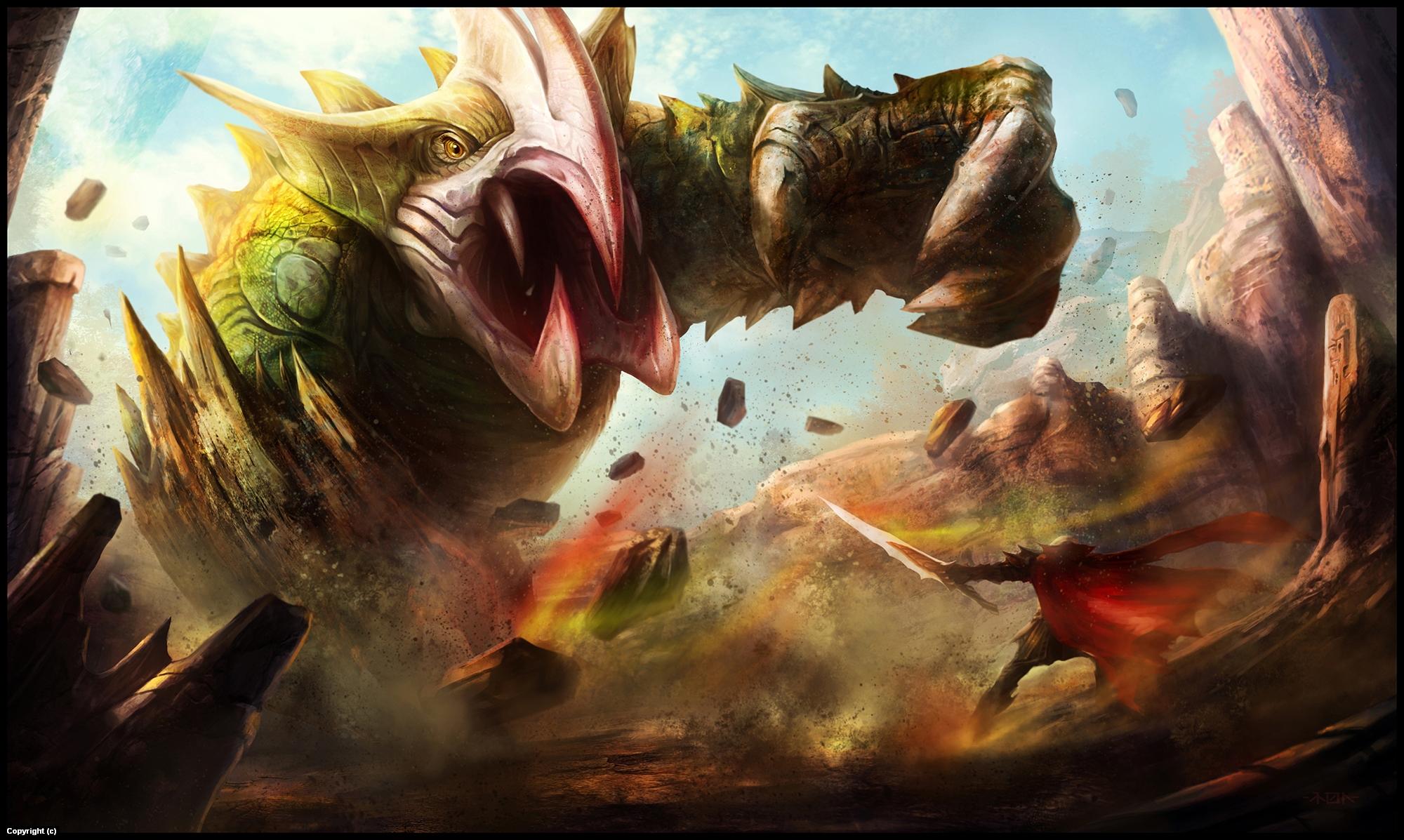 The Arena Artwork by Ramon  Puasa Jr