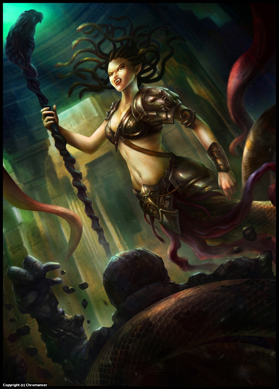 Lamia Artwork by Ramon  Puasa Jr