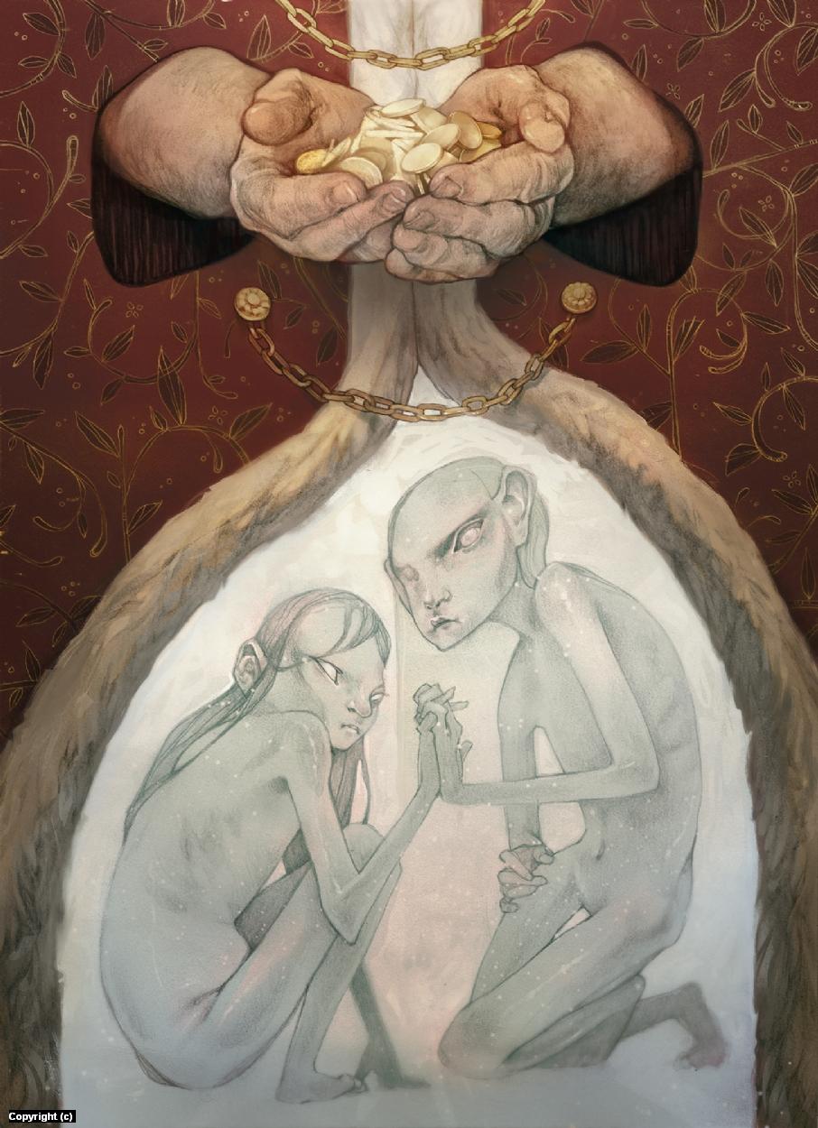 Ignorance & Want Artwork by Hannah Kennedy