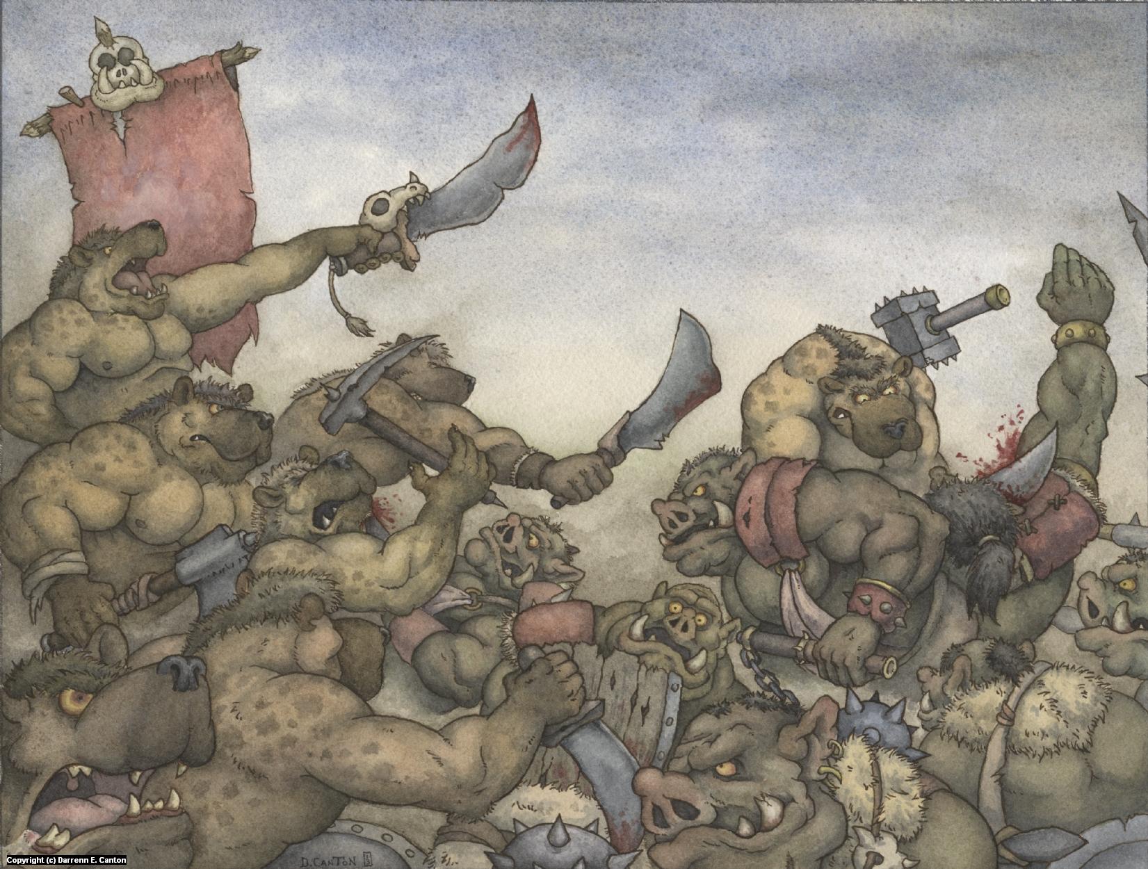 Ferocious Assault Artwork by Darrenn Canton