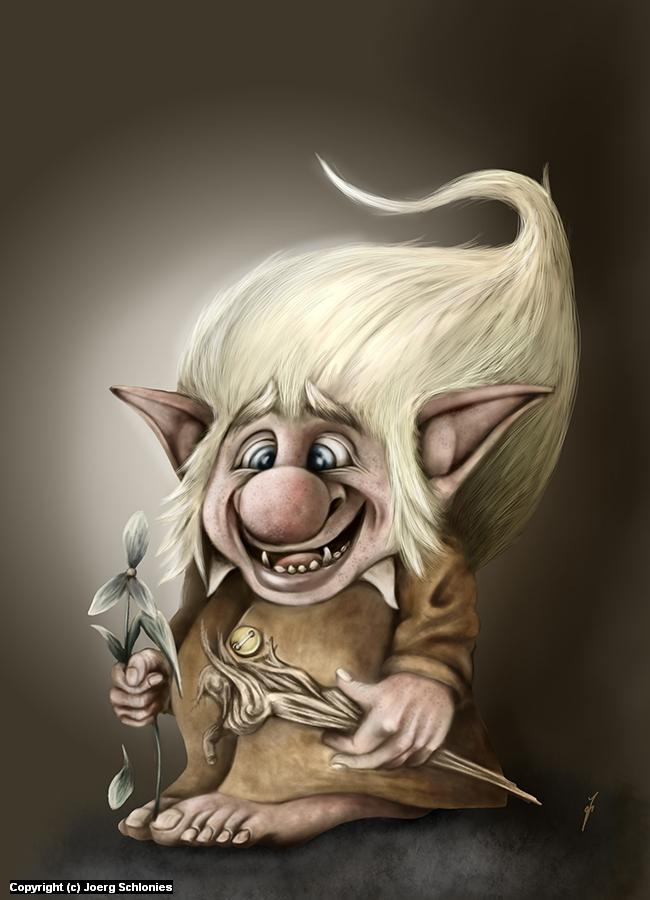 Swedish Rumble Gnome Artwork by Joerg Schlonies