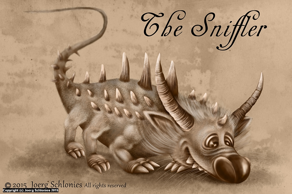 The Sniffler Artwork by Joerg Schlonies