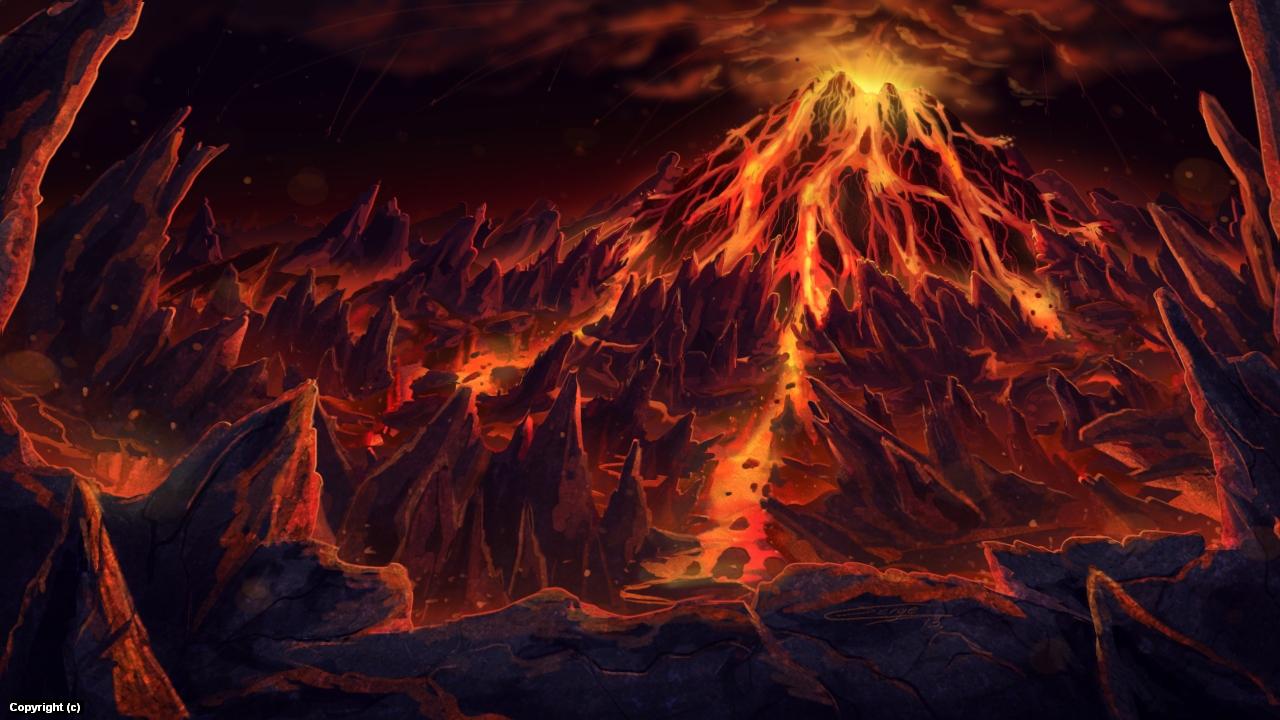 Earth fury Artwork by Sergio Rebolledo