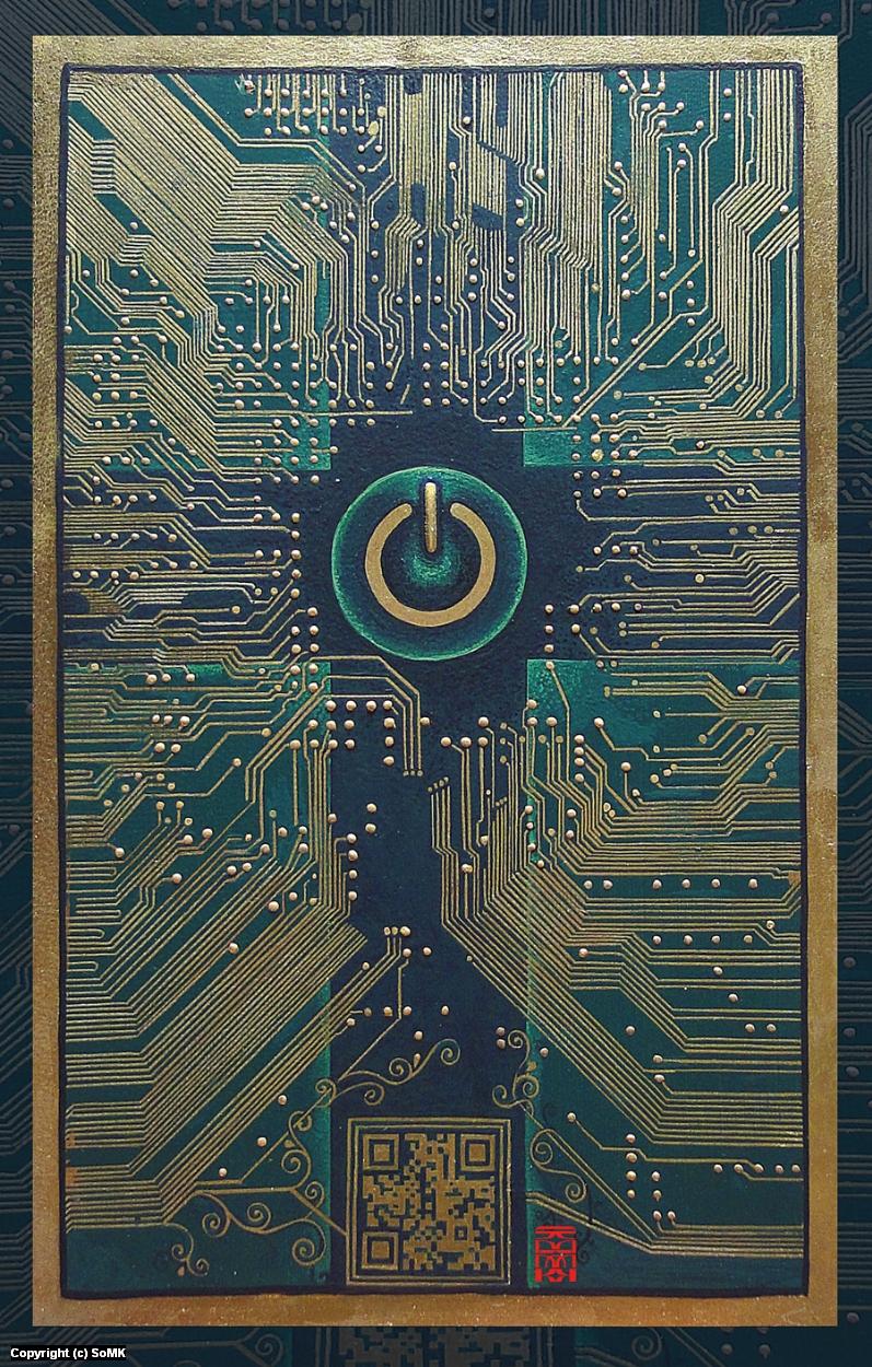 GospelsMotherboard Artwork by so MK