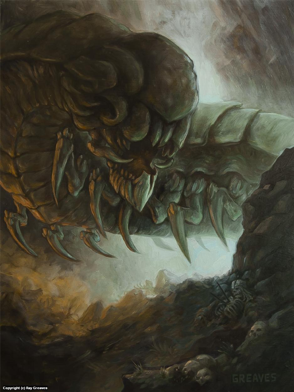 Canyon Crawler Artwork by Raymond Greaves