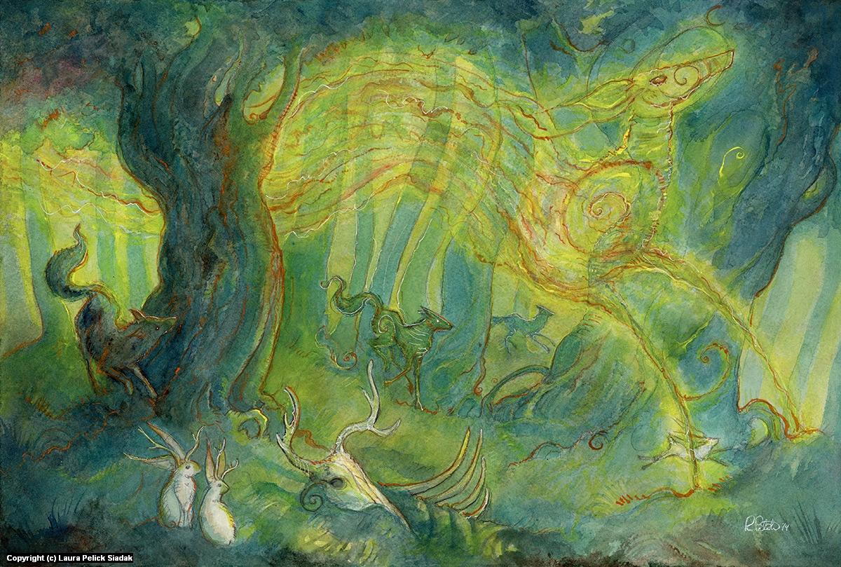 Forest's Hart Artwork by Laura Siadak