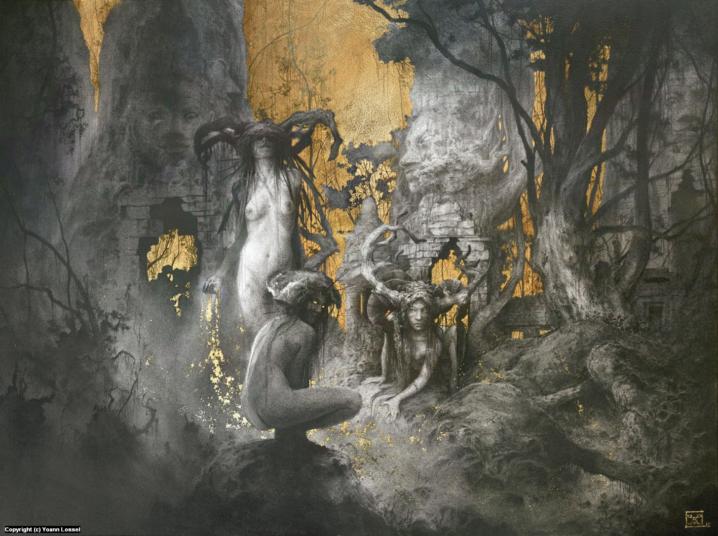 The Golden Age Artwork by Yoann Lossel