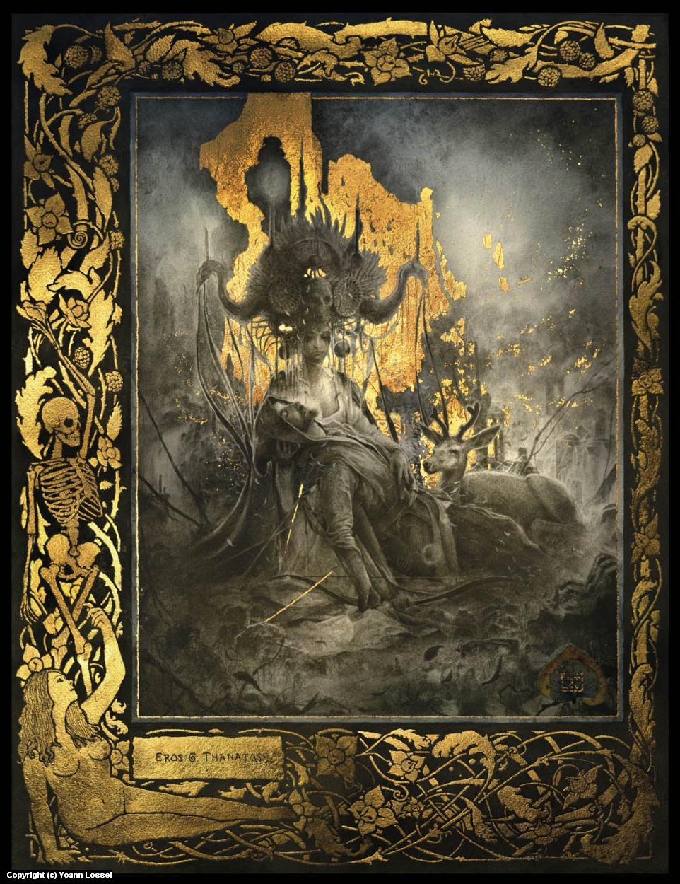 Eros et Thanatos Artwork by Yoann Lossel