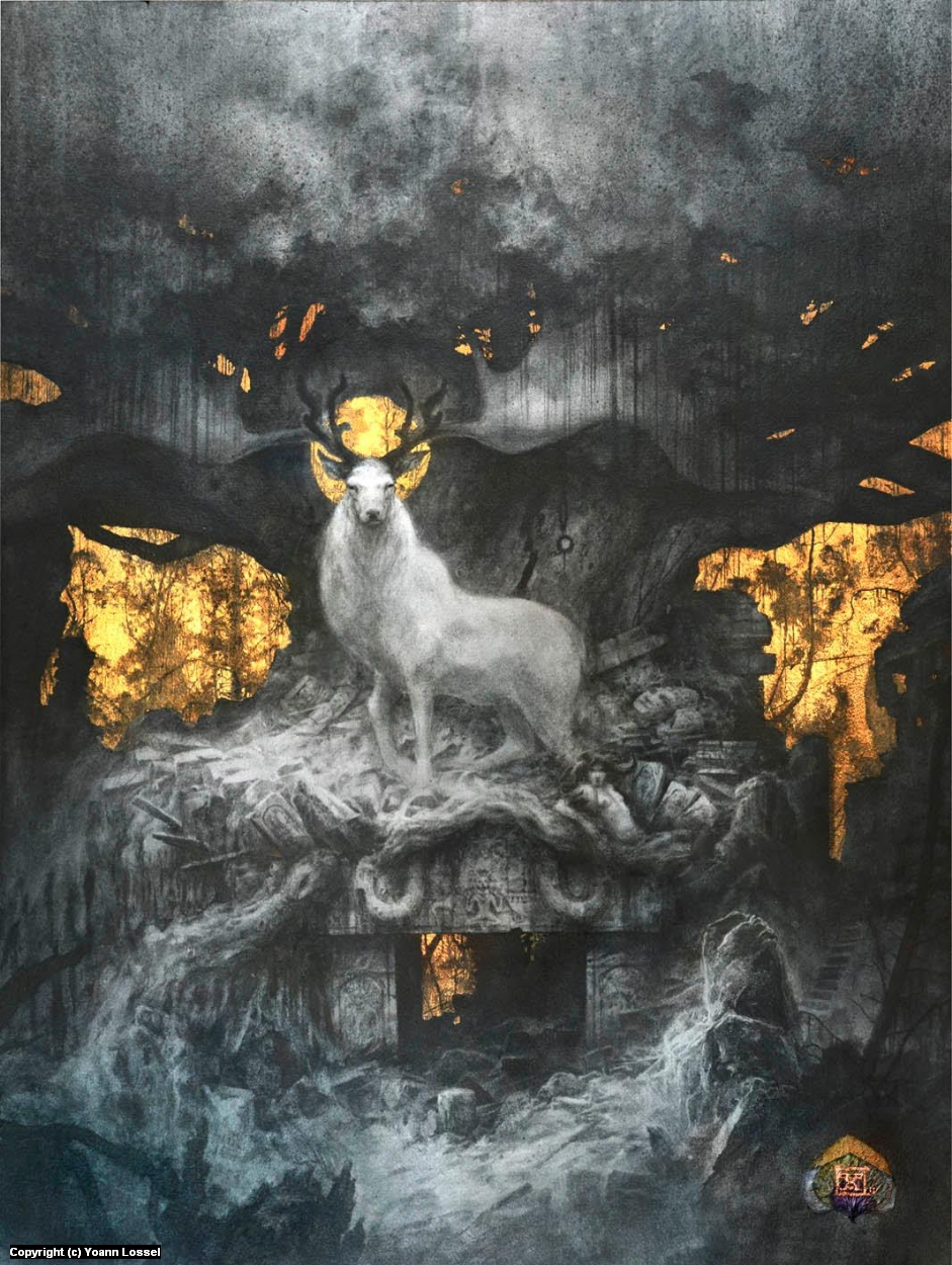 Forgotten Gods Artwork by Yoann Lossel
