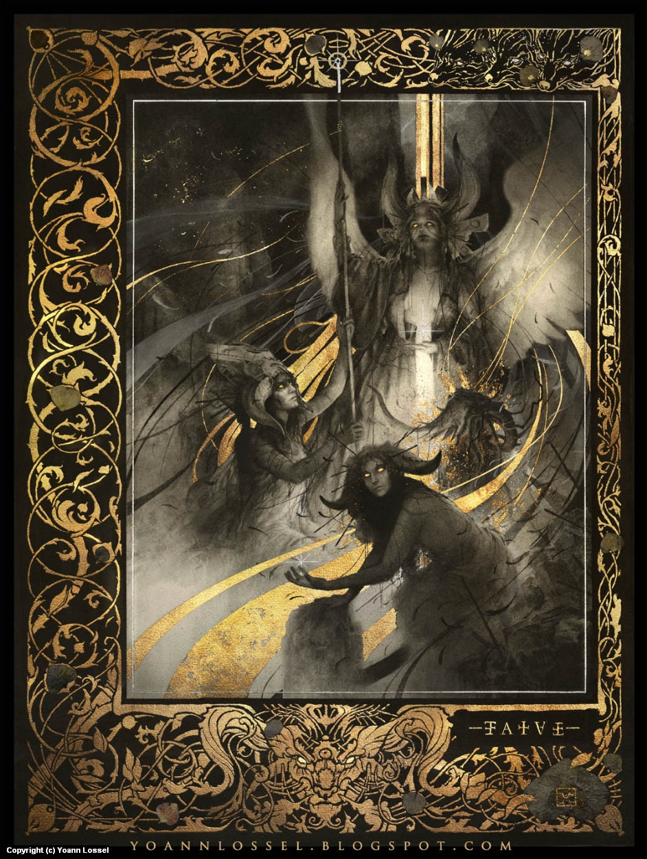 Fatae Artwork by Yoann Lossel