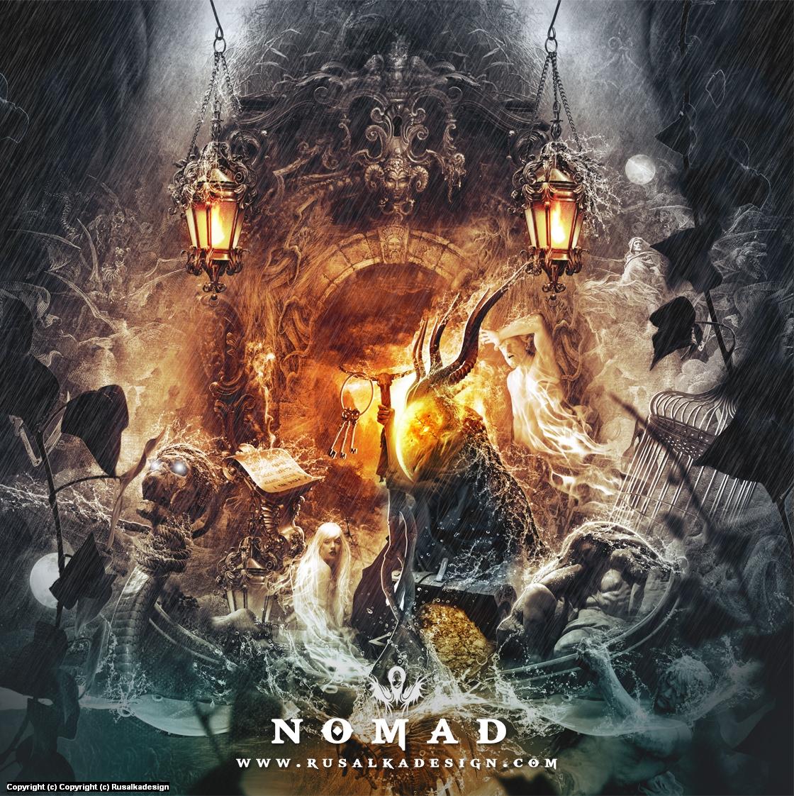 Nomad Artwork by Ludovic Cordelières