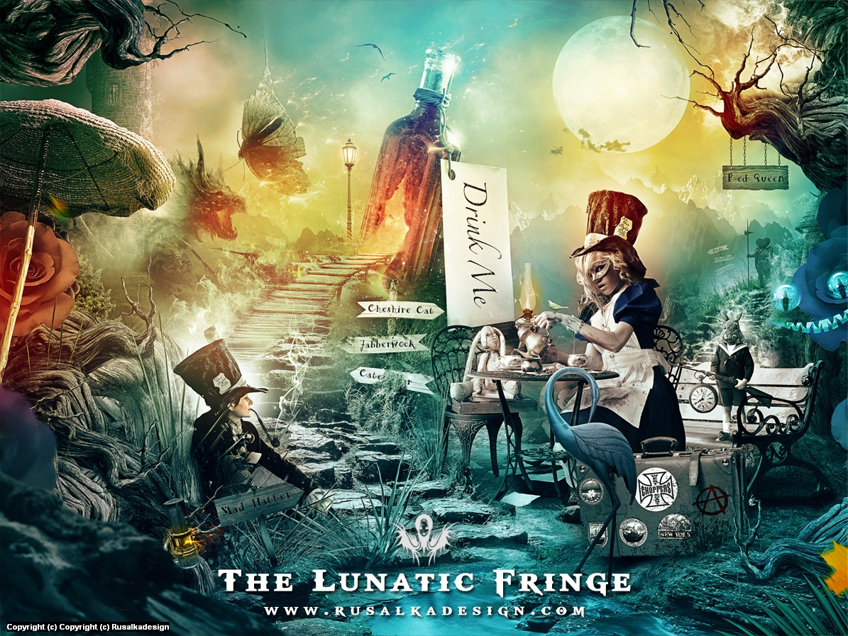 The Lunatic Fringe Artwork by Ludovic Cordelières