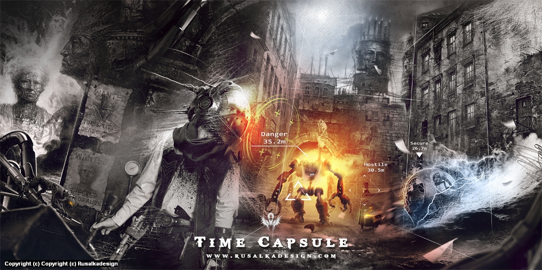 Time Capsule Artwork by Ludovic Cordelières