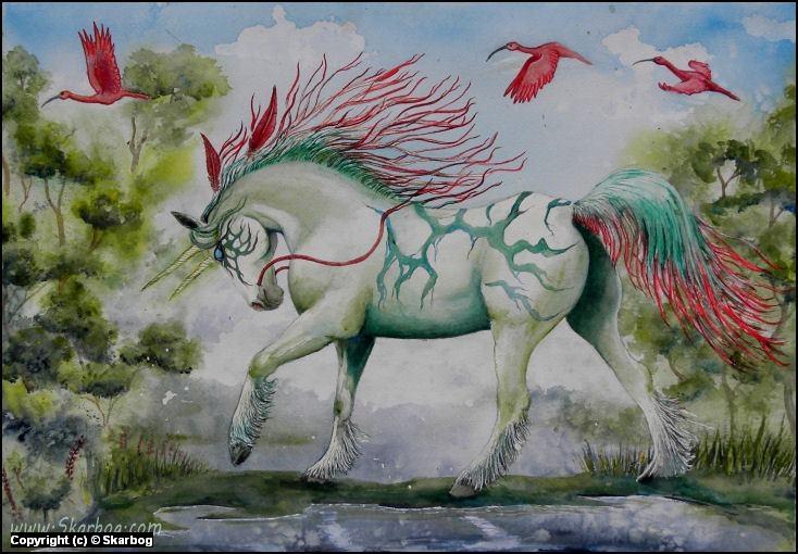 The Bogbeast Artwork by den Hollander Alice *Skarbog*