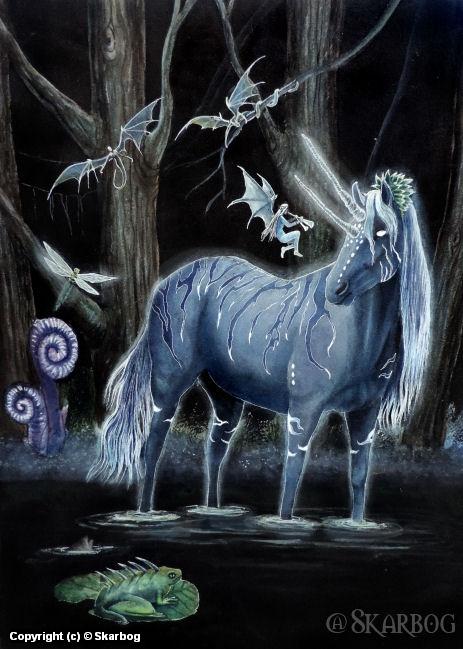 Midnight Melody Artwork by den Hollander Alice *Skarbog*