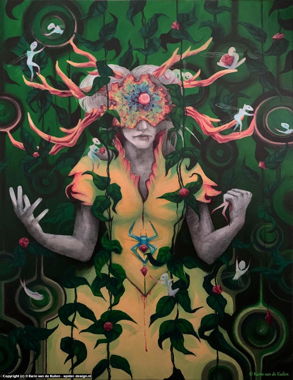FairyEater Artwork by Karin  van de Kuilen