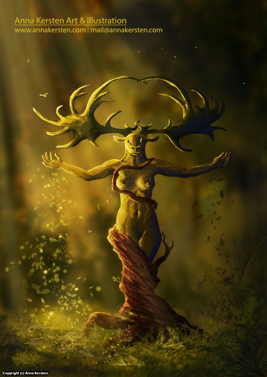 Soul of the Forest Artwork by Anna Kersten