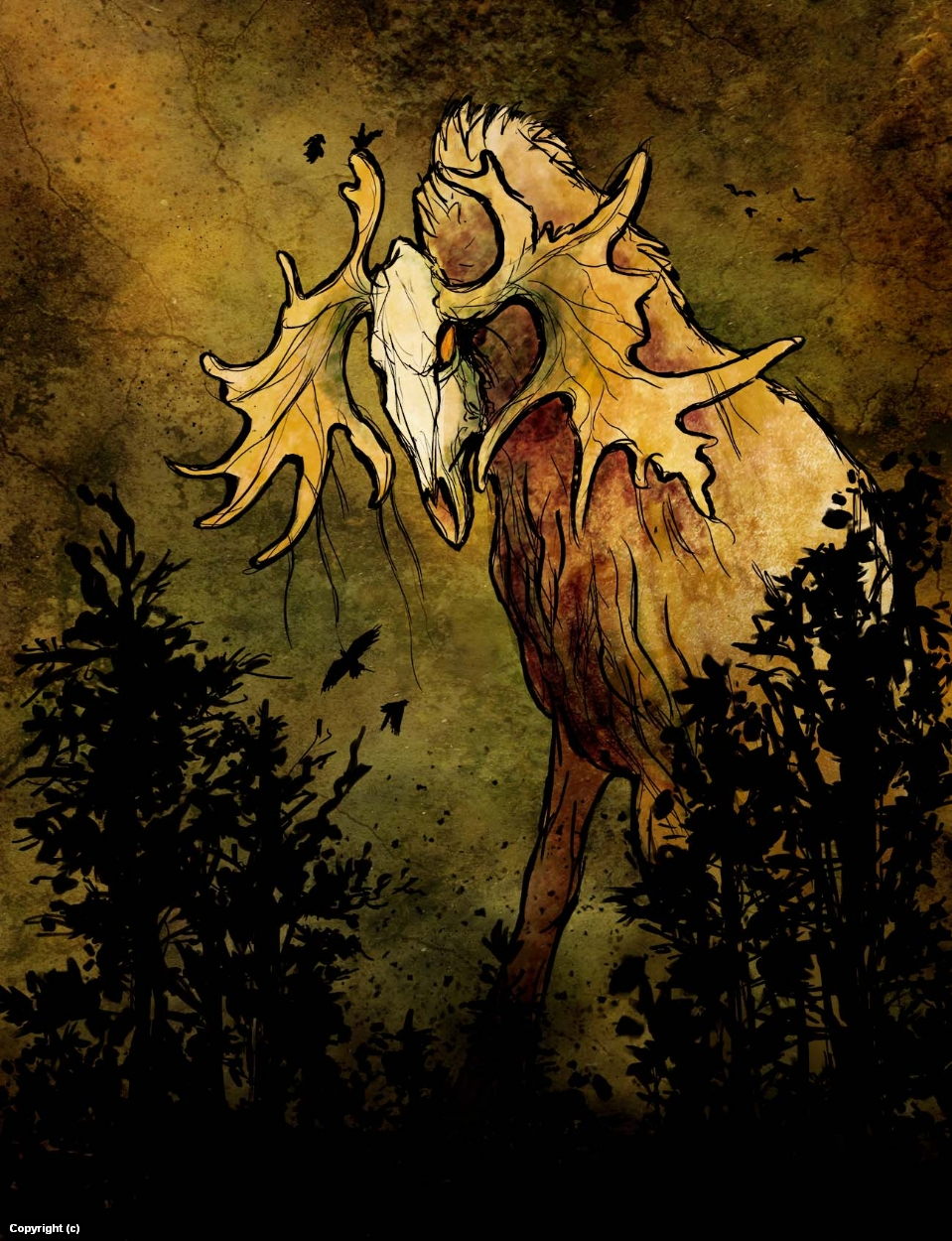 Forest Spirit Artwork by Anna Kersten