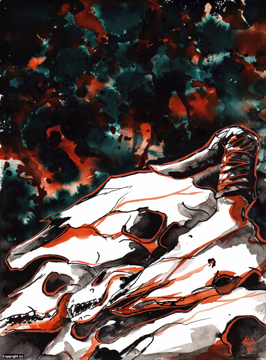 Mass Hysteria Artwork by Anna Kersten