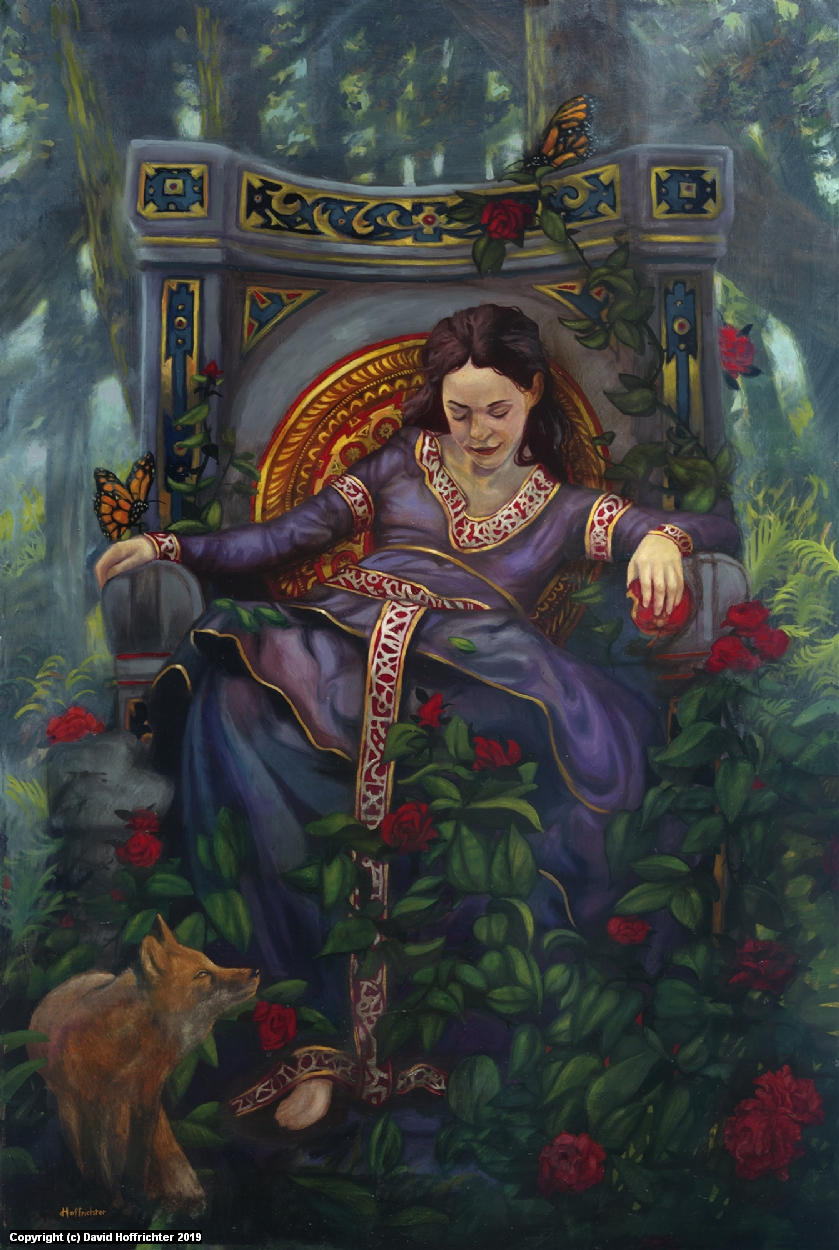 The Enchanted Dreamer Artwork by David Hoffrichter