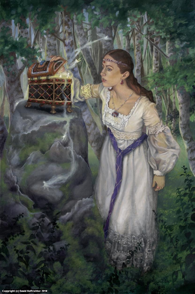 Pandora's Box Artwork by David Hoffrichter