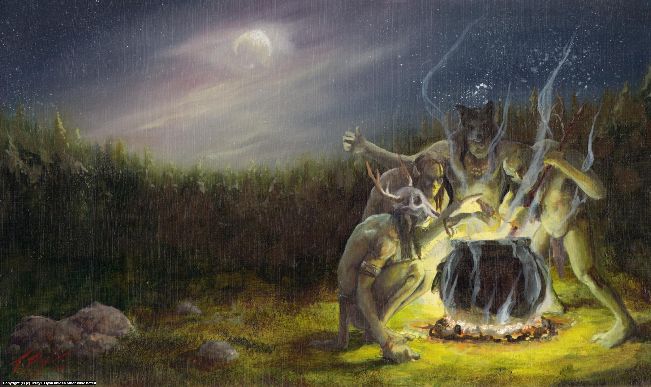TROLL MAGIC Artwork by Tracy E Flynn