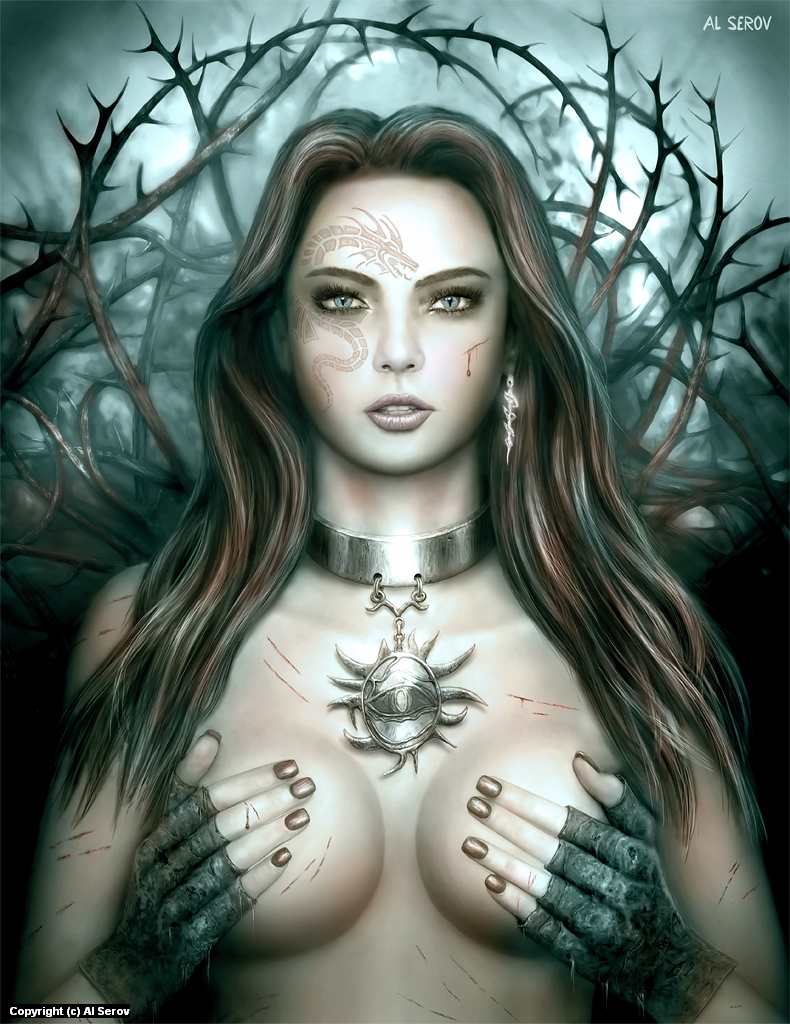 Enchantment Artwork by Al Serov