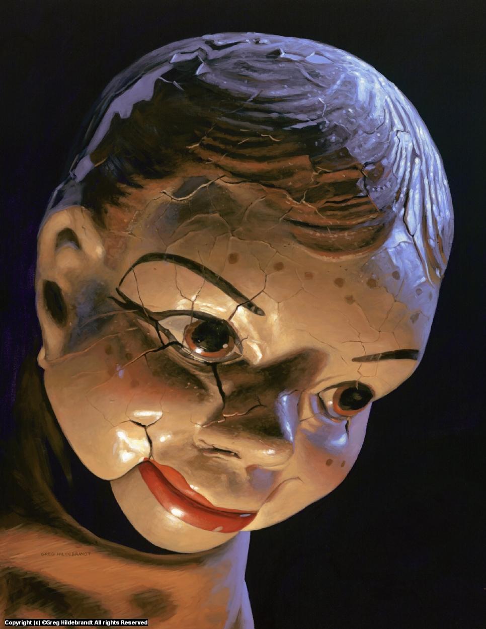 Freckles-SOLD Artwork by Greg Hildebrandt